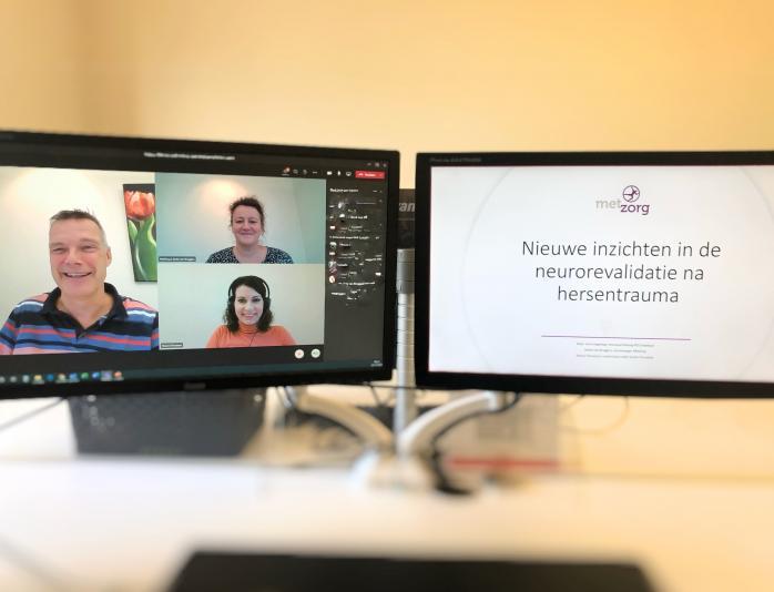 Case Webinar 'Nieuwe inzichten in de neurorevalidatie na hersentrauma'  van Metzorg Nijverdal